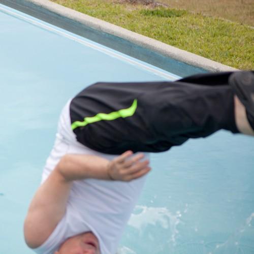 Juan in pool